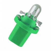Автомобильная лампочка Zollex 12V 2W B8.5d green 22057 (10шт)