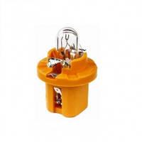 Автомобильная лампочка Zollex 12V 1W BX8.5d BAX orange 22019 (10шт)