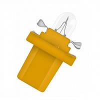 Автомобильная лампочка Zollex 12V 1.5W BX8.5d BAX yellow 22050 (10шт)