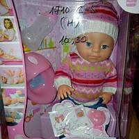 Детский мини пупсик Беби берн зима