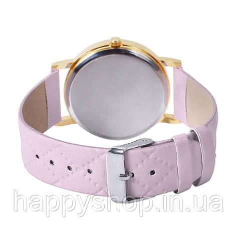 Женские часы Geneva Platinum со стеганым ремешком, фото 2