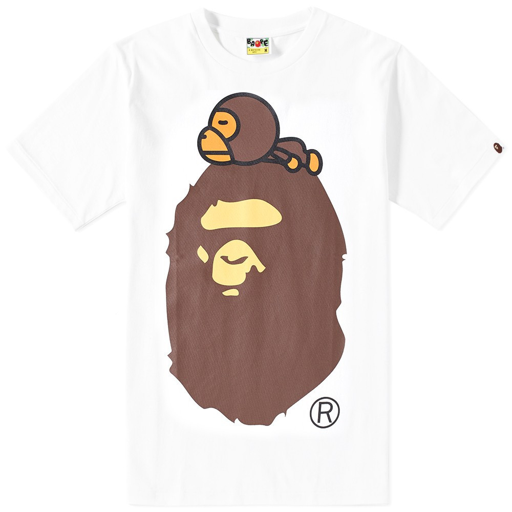 Футболка с принтом A BATHING APE Bape Original мужская