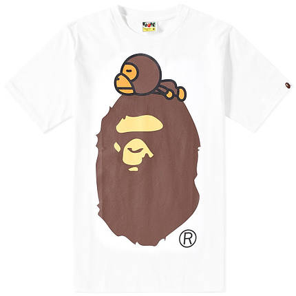 Футболка с принтом A BATHING APE Bape Original мужская, фото 2