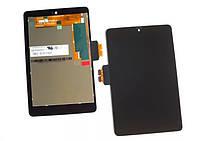 Дисплей (экран) для планшета Asus ME370 Galaxy Nexus 7 (1 поколение 2012) с сенсором (тачскрином) черный