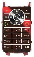 Клавиатура (кнопки) Motorola K1 Red