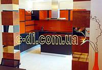 Стеклянные панели на рабочую поверхность кухни