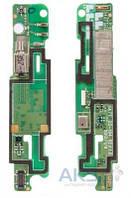 Шлейф для Sony C2104 S36h Xperia L / C2105 Xperia L плата с вибромотором и микрофоном Original