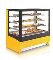 Кондитерская холодильная витрина INNOVA 1000 (кубическое стекло)