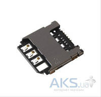 (Коннектор) Разъем SIM-карты Samsung S5280/S5282/S5310/S5312/S7262/i9190/i9195