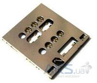 (Коннектор) Разъем SIM-карты Sony LT28i Xperia Ion