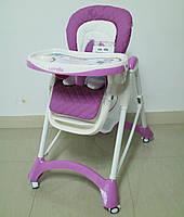 Детский стульчик для кормления CARRELLO Caramel CRL-9501 PURPLE