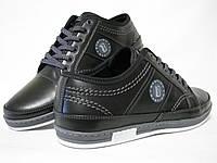 Туфли спорт мужские кожаные Бастион