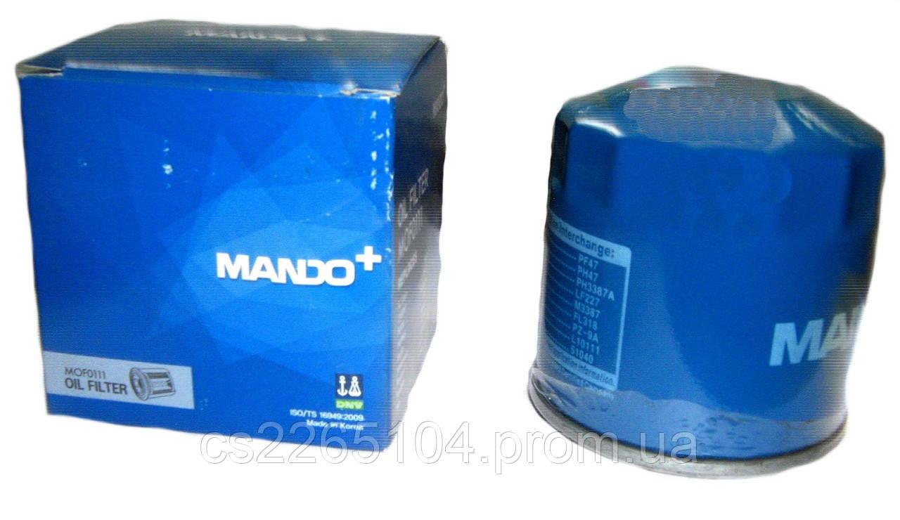 Фильтр масляный Mando (Lanos,Aveo,lacetti)