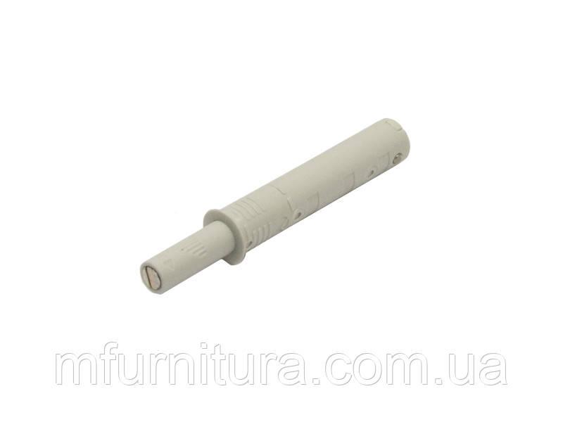 Выталкиватель K-Push (магнитный) / L=20 АНТРАЦИТ / Italiana Ferramenta