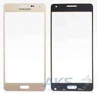 Стекло для Samsung A500F Galaxy A5, A500H Galaxy A5 Original Gold