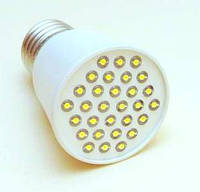 Светодиодная лампа Е27 2W (светоотдача 30Вт)