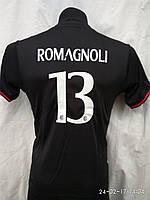 Футбольная форма детская подростковая Milan Romagnoli красно-черный