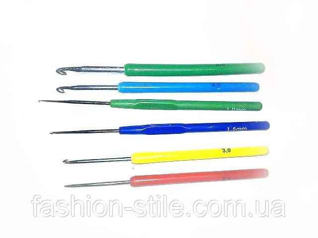 крючки для вязания размер 1225335 10шт в наборе цена 5440