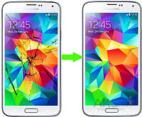 Замена стекла на Samsung Galaxy S5
