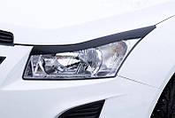 Реснички на фары Chevrolet Cruze 2008+ г.в. (Шевроле Круз)