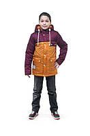 """Куртка для мальчика подростка, """"Парка-5"""""""