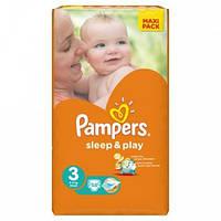 Подгузники Памперс Pampers Sleep&Play Midi 3 (4-9кг.) 58шт.