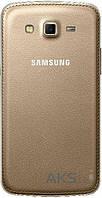 Задняя часть корпуса (крышка аккумулятора) Samsung G7102 Galaxy Grand 2 Duos Original Gold
