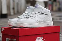 Женские кроссовки Nike Air Force белые  36-41 м.Хмельницький