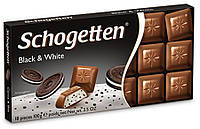 Шоколад Schogetten Black & White Черное и белое 100 г,