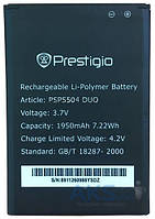 Аккумулятор Prestigio MultiPhone 5504 Duo / PSP5504 DUO (1950 mAh) 12 мес. гарантии