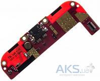 Шлейф для HTC Desire 400 с разъемом зарядки, микрофоном Original