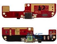 Шлейф для HTC Desire 200 c разъемом зарядки и микрофоном