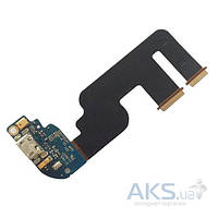 Шлейф для HTC One mini 2 с разъемом зарядки и микрофоном