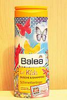 Гель для душа + шампунь Balea Schmetterlinge без слез 300 мл. Германия \87842