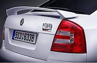 Спойлер крышки багажника Skoda Octavia (A5) 2004-2013, type RS