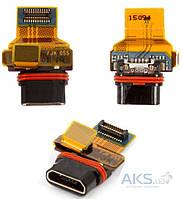 Шлейф для Sony E5803 Xperia Z5 Compact / E5823 Xperia Z5 Compact с разъемом зарядки Original