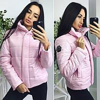 Розовая весенняя куртка