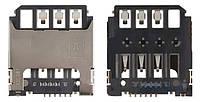 (Коннектор) Разъем SIM-карты Samsung G130E/G313H/G313HN/G313HU/S7390