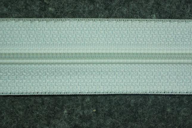 Молния лента (метражка) Баришевка №5 (6) цвет белый., фото 2