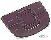 Клавиатура (кнопки) Nokia 3600 Slide верхняя Red