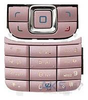 Клавиатура (кнопки) Nokia 6111 Pink