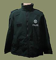 Полицейская ветро/влагостойкая куртка softshell (софтшел). Northern Ireland Police.