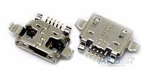 (Коннектор) Разъем зарядки HTC T8282 Touch HD (mini USB)