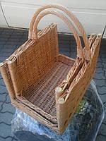 Набор прямоугольных корзин для камина 2шт