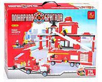 """Конструктор Ausini """"Пожарная Бригада"""", 774 деталей, 21001"""