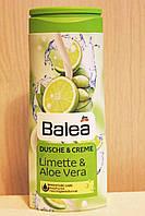 Крем-Гель для душа Balea limette & aloe vera с ароматом алое вера и лимона 300 мл. Германия \789752