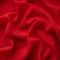Ткань шифон - цвет красный