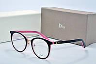 Оправа Dior Montaigne черная с розовым, фото 1