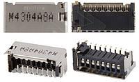 (Коннектор) Aksline Разъем карты памяти G313H Galaxy Ace 4 Lite / G313HN Galaxy Ace 4 / G313HU Galaxy Ace 4 Duos /  S5282 / S6312 Galaxy Young / S7262