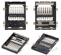 (Коннектор) Aksline Разъем карты памяти Samsung I8190 Galaxy S3 mini